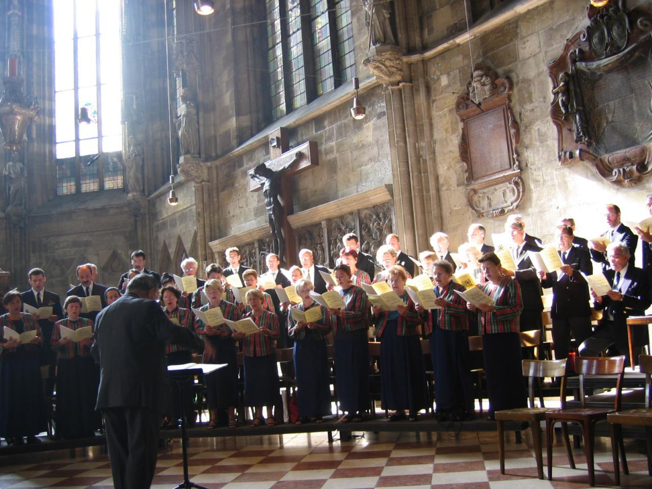 Cathédrale de Wien 15 août 2004