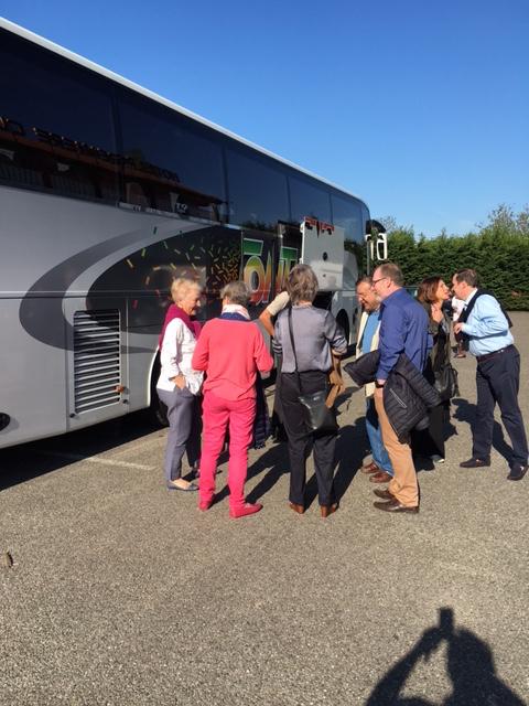 JPP départ pour le centre de Colmar