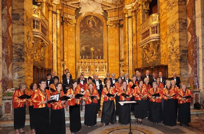 Le Choeur Mixte à St Louis des Français de Rome