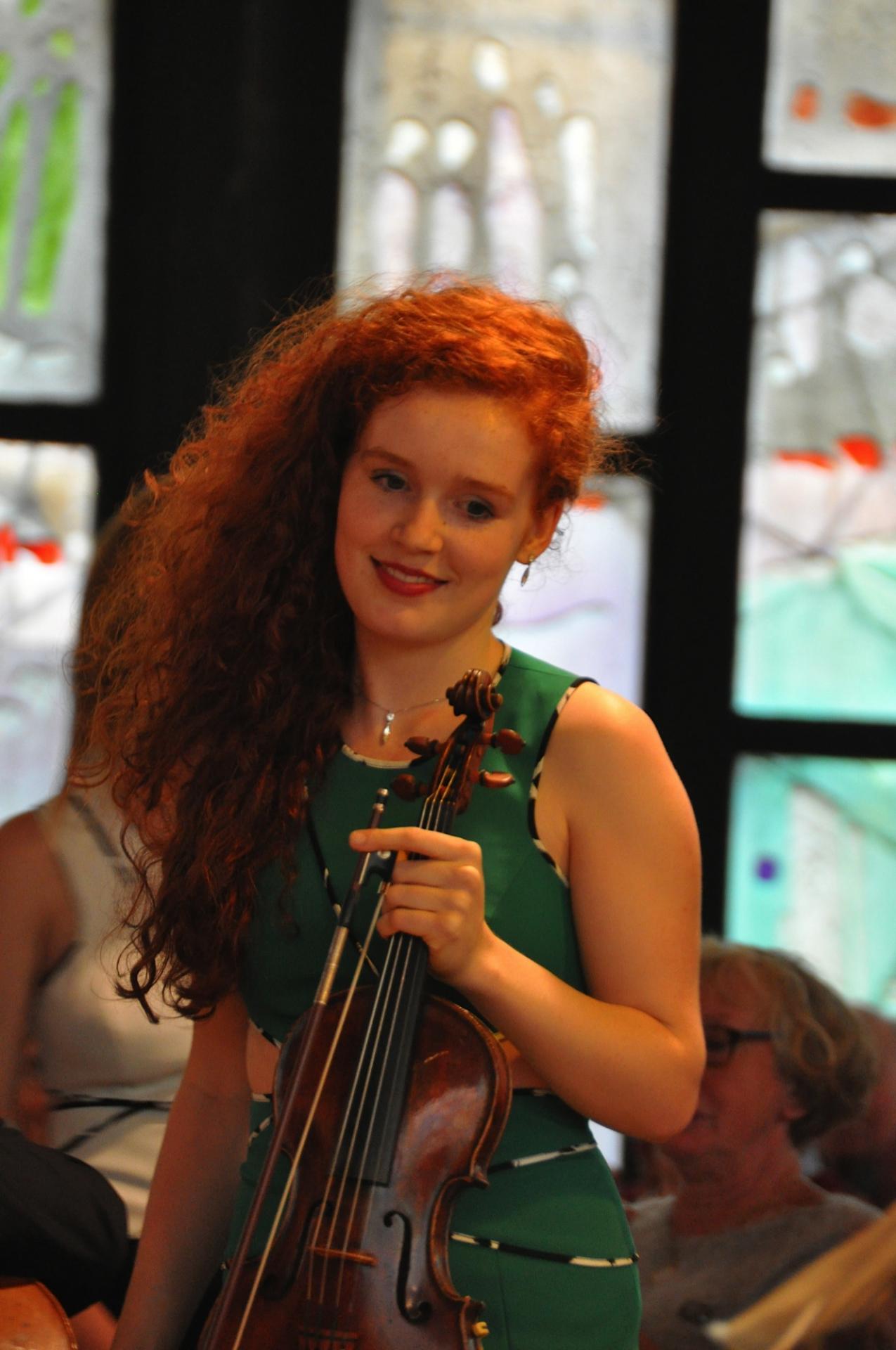 Camille et son violon 2015