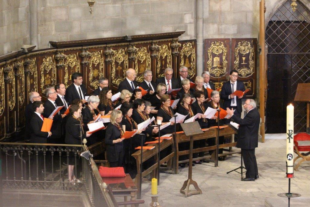 Messe à Santa Maria del Pi dimanche 28 Mai 2017