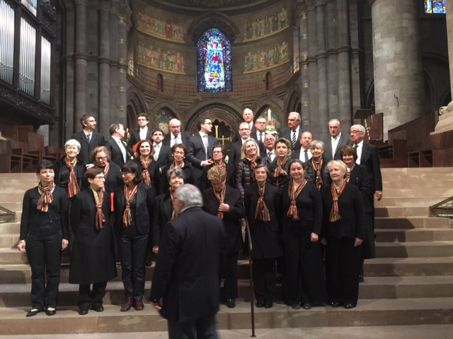 Cathédrale de Strasbourg 8 mai 2016