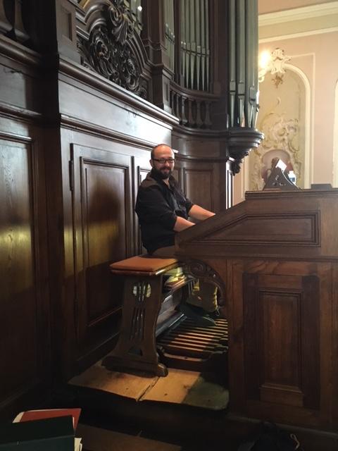 Octavian Saunier notre organiste