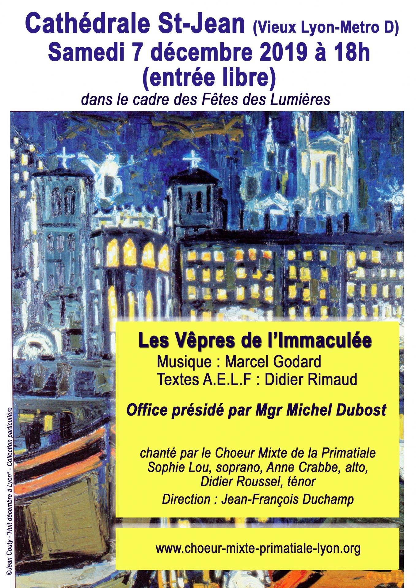 Vêpres de L'Immaculée - Marcel Godard